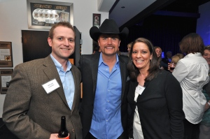 Mike Hall, John Rich, Michelle Hall