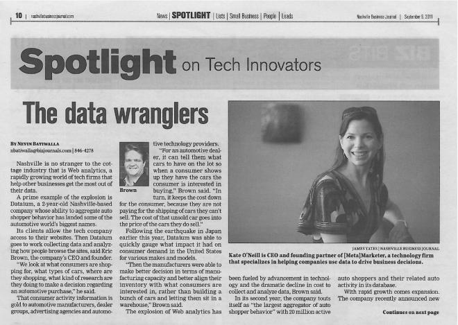 The data wranglers