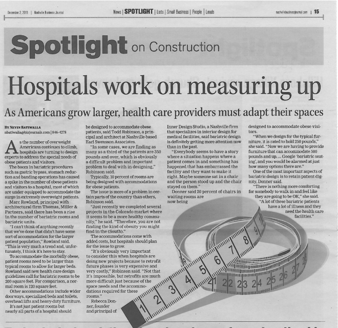 Hospitals work on measuring up