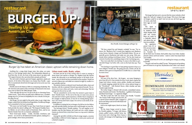 Southern Exposure Magazine - Burger Up